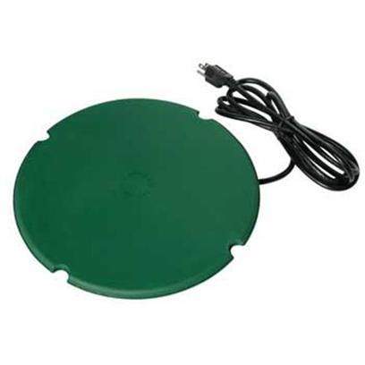 Farm Innovators Presents Farm Heated Pond Saucer 200wat 200 Watts. 200 Watt Floating Pond de-Icer Thermostatically Controlled 200 Watts of Power Energy Efficient - Saves Electricity Low Profile Design Minimizes Wind Resistance 10' Cord Works in all Pond Types Keeps Vent Hole Open in Ice to Sub-Zero Temperatures 1 Year Warranty [33414]