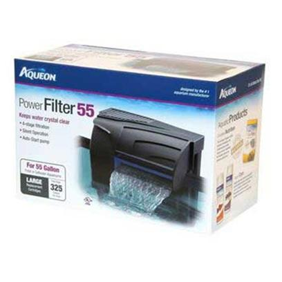 Aqueon Presents Aqen Quietflow Filter 20. Aqueon Power Filters Feature Four Stages of Filtration-Mechanical, Chemical, Biological and Wet/Dry-for the Cleanest, Clearest, Healthiest Water. Higher Flow Rates Ensure Higher Dissolved Oxygen Content for Healthier, More Active Fish. The Internal Pump Design Helps Dampen Noise, Eliminates Leaks and Starts Up Automatically After Cleaning or Power Interruptions. [33620]