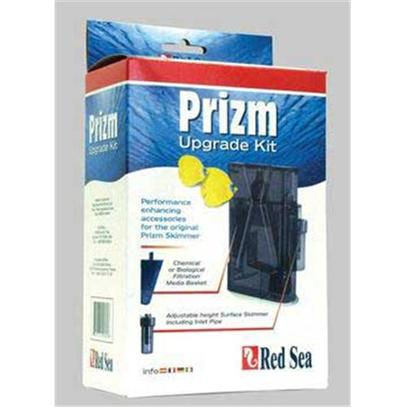Red Sea Fish Pharm Presents Red Sea Prizm Deluxe Upgrade Kit Skimmer. Conversion Kit that Allows any Prizm Skimmer to be Upgraded to a Deluxe Version. Includes New Main Tube, Skimmer Attachment, and Media Container. [33762]