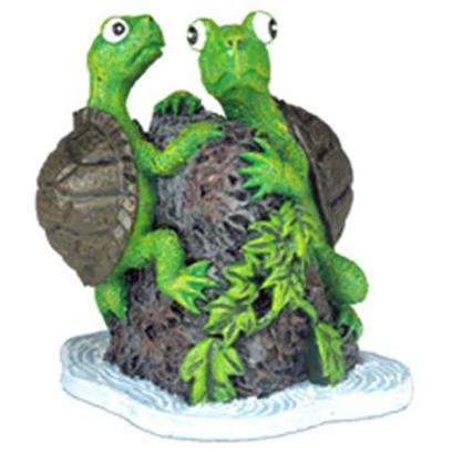 "Blue Ribbon Presents Blue Ribbon (Br) Turtle Twins (3pc) Resin Ornament-Turtle. Our Adorable ""Turtle Twins"" is the Safe and Ideal Decoration for all Aquarium and Terrarium Settings. Packed 3 Per Inner Box.""Ideal for Small Aquariums, Bowls, Terrariums and More. Begin your Collection Today!"" Approx. 2 X 2 3 [34055]"