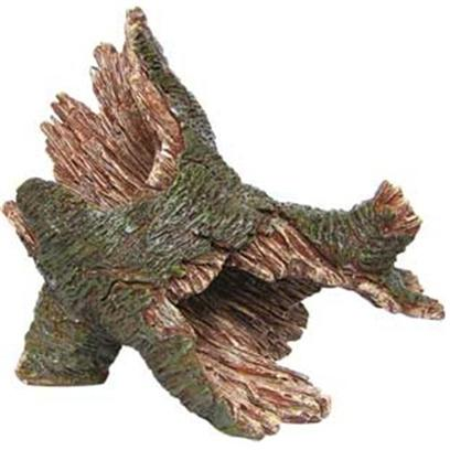 Aquatic Creations Presents Zan Ornament-Hollow Log Resin. The Hollow Log is a Necessity for any Aquatic Environment. Zanusa's Hollow Log Features Detailed Craftsmanship and Hand Painted Structure. The Hollow Log Blends in to a Natural Setting and Creates a Playground for your Fish. 8.3&quot; X 4.5&quot; X 6.9&quot; [34166]