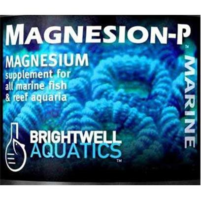 Brightwell Aquatics Presents Brightwell Aquatics (Bwell) Magnesion Magensium-P Dry Supplement 10.6oz 300gm. High-Purity Powered Magnesium Blend. Provides Magnesium, which Helps Regulate the Balance Between Calcium and Carbonates in Aquarium Water, and is a Component of Aragonite, the Mineral Secreted by Reef-Building Organisms to Form Skeletal Material. Stronger and More Economical than Liquid Magnesium Solutions; Created for Hobbyists Maintaining Multiple Reef Aquaria. 52.8 Lb 24 Kg [34290]
