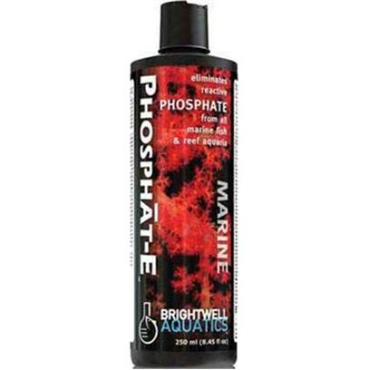Brightwell Aquatics Presents Brightwell Aquatics (Bwell) Phosphat-E Liquid Phos Remover 17oz 500ml. • Begins to Eliminate Reactive Phosphate Immediately Upon Addition to Aquarium. • Safe for all Inhabitants of Reef and Marine Fish-only Aquaria. • Each Ml Eliminates 1 Ppm Phosphate in 4 us-Gallons of Water (250 Ml Treats 1,000 us-Gallons). • Helps Facilitate the Removal of Phosphate from Aquaria During Periods when Dissolved Organic Material is Abundant. • may be Used on an Ongoing Basis to Help Control Phosphate in Heavily-Stocked Aquaria. • over 50% Stronger than Most Competing Products. • Formulated by a Marine Scientist. [34304]