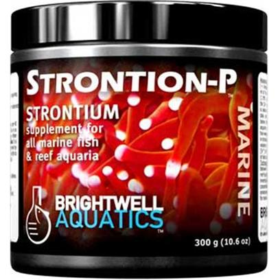 Brightwell Aquatics Presents Brightwell Aquatics (Bwell) Strontion Strontion-P Dry Supplement 7.1oz 150gm.  High-Purity Powdered Strontium.  Incorporated by Corals, Clams, and Other Reef-Building Invertebrates into Aragonite, the Mineral that is Secreted as Skeletal Material.  Stronger and More Economical than Liquid Strontium Solutions; Created for Hobbyists Maintaining Multiple Reef Aquaria.  Formulated by a Marine Scientist. [34324]