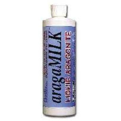 Carib Sea Presents Carib Aragamilk Liquid Aragonite 16oz. Aragamilk™ - Ideal for African Cichlids, Livebearers, and Marine Aquariums of all Types! The Perfect Alkalinity Booster Because...Aragamilk™ has a Full Pound of Buffer in Every 16 Fluid Ounce Bottle. This Buffer Comes in Two Forms Bicarbonate for Immediate Response, Plus Carbonate from Aragonite. This Second Form Makes for a Safer, Time-Release Buffer, over 2-3 Days, for Long Term Security without the Wild Ph Swings that can Stress your Tank Inhabitants. Aragamilk™ is an Excellent Way to Buffer your African Cichlid or Livebearer Aquariums. You'll Notice it will Stop that Annoying 'Cichlid Itch,' Helping you Create an Environment for Happy Colorful Fish! The Perfect Calcium Supplement Because...Aragamilk™ has Enough Calcium in Each 16 Fluid Ounce Bottle to Grow a Full 1/2 Pound of Coral, and all this Calcium is in a Non-Caustic Aragonite Form. With Regular Use, Aragamilk™ will Help you Maintain Steady, High Calcium Levels with Ease. No Pre-Mixing, no Balancing Act. [34328]