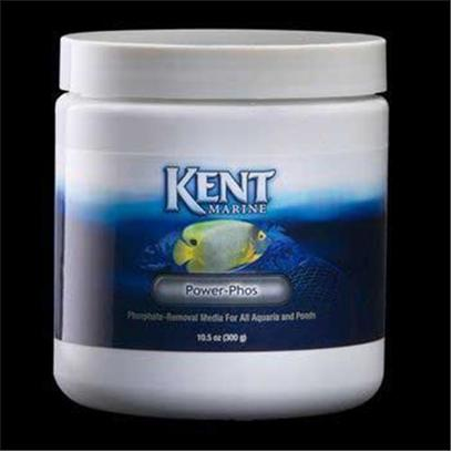 Kent Marine Presents Kent Marine (Kent) Maximum Power Phosphate Phos 150gm. Kent Marine Power-Phos is the Most Effective Means of Removing Phosphate and Silicate from Aquarium Water. More Efficient than Similar Dry Media and will not Release Phosphate or Silicate Back in the Water when Exhausted. [34421]