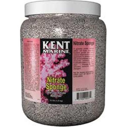 Kent Marine Presents Kent Marine (Kent) Nitrate Sponge 100gal (1/2gallon). Description Kent Marine Nitrate Sponge is a Granular Zeolitic Medium which Works by Two Methods. 1) it Slowly Directly Adsorbs Small Amounts of Ammonia that are Released by Fish and Natural Processes, and 2) it Fosters Anaerobic Bacterial Denitrification Due to its Physical Porous Structure. This Denitrification Slowly Reduces Nitrate Levels in the Aquarium. It Works Well in Freshwater Tanks or Tap Water to Remove Toxic Ammonia Directly! Nitrate Sponge Prolongs the Time Allowed Between Water Changes by Keeping Nitrates Low! [34425]