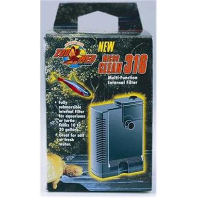 Buy Mini Internal Aquarium Filter products including Zoo Micro Clean Filter Microclean 304 Internal Mini (5 to 15 Gallons), Zoo Micro Clean Filter Microclean 316 Internal Mini (10 to 30 Gallons) Category:Sponge Filters Price: from $22.99