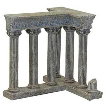 Blue Ribbon Presents Blue Ribbon (Br) Column Ruins. Column Ruins - these Stone Column Ruins will Create an Underwater Landscape Right out of Ancient Greece. A Great Addition for your Planted Aquarium or Terrarium. [34709]