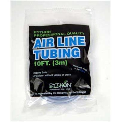 Python Aquarium Presents Python Deluxe Air Tubing 10ft Professional Quality Airline (Carded). Fda Approved, Non-Toxic, Ozone Safe Material. Compounded with Uv Stabilizers Assuring Flexibility and Durability. Pale Blue in Color -- The Color of Clean Water. [34848]