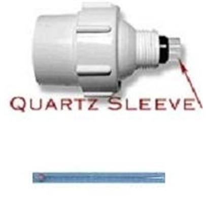 Aqua Ultraviolet Presents Aqua Ultraviolet Quartz Sleeve 15watt Uv. Comes with Rubber Seal Ring [34907]