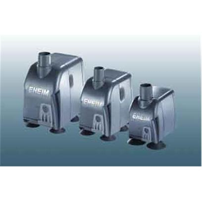 Eheim Presents Eheim Compact Pump 1000. The New Eheim Compact Pump Series for Use under Water is Available with Three Different Outputs. They are Suitable for Use in Aquariums, Keeping and Rearing Tanks where Reliable Water Circulation or Flow is Required. The Flow Rate can be Adjusted by the Slidable Output Regulator as Required. Thanks to the Small Dimensions the Immersion Pumps can be Installed in the Smallest of Spaces; they are Easily Attached by Suction Holders to the Inside Panel of the Tank. Pump Output 160 Gph. Max Head 4.3 Ft. Dimensions 2.5' X 1.8' X 3.3'. 3 Year Manufacturer`S Warranty. Pump Output 265 Gph. Max Head 6.6 Ft. Dimensions 3.0' X 2.1' X 3.7' . 3 Year Manufacturer`S Warranty. High, Controllable Output from a Compact Unit - that's what these Pumps Represent. These New Models Complete the Range of Compact Pumps. Suitable for Use in or out of Water. For Use in Water. Supplied Adapters Make it Suitable also for Outside Water. [35028]