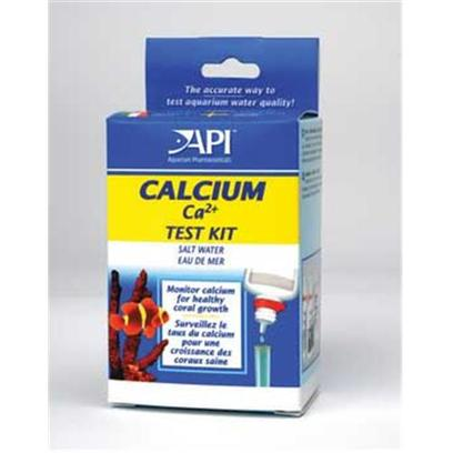 Aquarium Pharmaceuticals Presents Aquarium Pharmaceuticals (Ap) Test Kit Sw Calcium Saltwater. This Kit Allows for Easy and Accurate Measuring of Calcium Levels to Help in Maintaining a Helthy Aquarium. [35112]