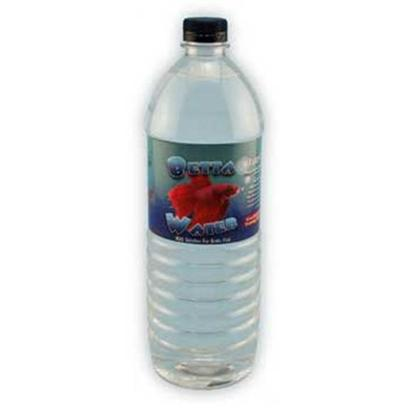 Conceptual Creations Presents Betta Water 1 Liter Bottle. Prepared Water for Betta. Prepared Water for your Betta. All Harmful Minerals Removed. Ready to Use. 10x3x3 [35115]
