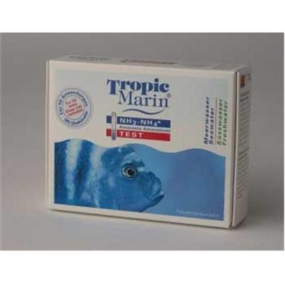 Tropic Marin Presents T Marin Kit Salt/Fresh Ammonia Saltwater Test. For the Determination of the Ammonia/Ammonium Concentration in Fresh and Saltwater. The Ammonium-Ion (Nh4+) is the Result of Nitrogen Mineralisation and Exists with Ammonia (Nh3) in an Equilibrium Depending on the Ph-Value. Nitrogen Organically Bound in Food Remains and Excrement is Converted by Bacteria and Set Free in the Form of Inorganic Ammonium Ions. An Ammonium Value that is Too High Impairs the Respiration and Blocks Vital Biological Functions in Livestock with Potentially Devastating Effects. With this Test, the Ammonium Concentration can be Determined from 0.01 to 3 Mg/L and - with Known Ph-Value - be Converted to the Ammonia Concentration with the Help of a Chart. The Test Reagents are Sufficient for Approx. 50 Tests. [35192]