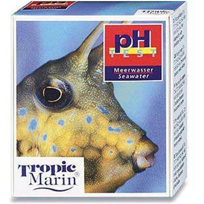 Tropic Marin Presents T Marin Test Kit Saltwater Ph. For the Determination of the Ph- Value in Seawater. Many Organisms Show an Extremely Sensitive Reaction to Fluctuations of the Ph-Value. With this Test, the Ph-Value can be Determined Fast and Accurately. The Results are Shown in Easily Distinguishable Colors and, in the Vital Area of the Scale, in Intervals of 0.2 Ph-Units. The Kit is Sufficient for Approx. 100 Tests. [35195]