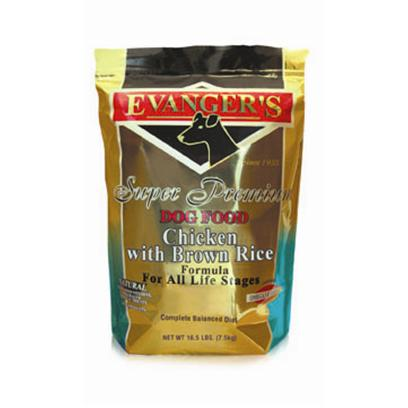 Buy Evanger's Dry Dog Food - Chicken products including Evanger's Dry Dog Food-Chicken 16.5lb Bag, Evanger's Dry Dog Food-Chicken 33lb Bag, Evanger's Dry Dog Food-Chicken 4.4lb Bag Category:Dry Food Price: from $11.89