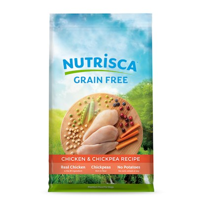 Buy Dogswell Nutrisca Dry Dog Food products including Dogswell Nutrisca Salmon & Chickpea Dog Food 15lb Bag, Dogswell Nutrisca Salmon & Chickpea Dog Food 28lb Bag, Dogswell Nutrisca Dry Dog Food Chicken & Chickpea-15lb Bag, Dogswell Nutrisca Dry Dog Food Chicken & Chickpea-28lb Bag Category:Dry Food Price: from $22.89