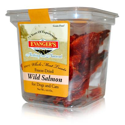 Evanger's Presents Evanger's Freeze Dried Wild Salmon Treat Dog/Cat 4.6oz. [35504]