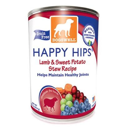 Dogswell Presents Dogswell Happy Hips Canned Food 12/13oz Cans Lamb & Sweet Potato-13oz Cans/Case of 12. Dogswell Happy Hips Canned Food 12/13oz Cans, with Three Choices One is Sure to Please your Dog! [35547]