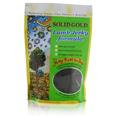 Solid Gold Presents Solid Gold Brand Lamb Jerky 10oz. , [35572]