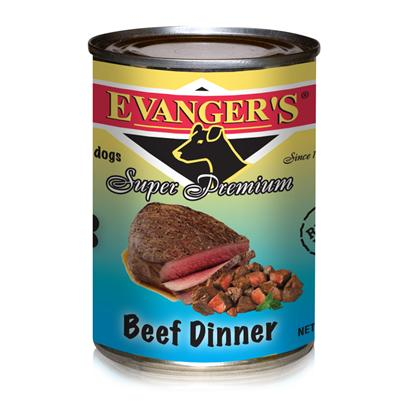 Evanger's Beef Chunk Gold Dog 12/13.2Oz Cans