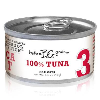 Merrick Pet Care Presents Before Grain Tuna Canned Cat Food 5.5oz Cans-24 Pack. Before Grain Cat Food from Merrick is a Superb Way to Ensure your Cat Gets only the Best Healthy Food. Made from the Finest all-Natural Ingredients, the Rich Mixture of Healthy Oils, Fresh Vegetables and Fine Quality Meats is Sure to Boost her Vitality. Known also to be a Delicious Meal, Before Grain Features Different Meaty Flavors Such as Salmon, Chicken, Turkey, Tuna, Quail and Buffalo. Another Certified Complete and Balanced Meal, Before Grain will Definitely Become a Fast Favorite in any Household. Primary Protein Source Tuna Primary Carb Source Tuna Analysis Crude Protein (Min.) 10.%, Crude Fat (Min.) 4.5%, Crude Fiber (Max.) 1.4%, Moisture (Max.) 78.0%. Calorie Content 909 Kcal/Kg - a 3.2 Oz. Can Provides 82 Kcal of Metabolizable Energy, Calculated Value. [35647]