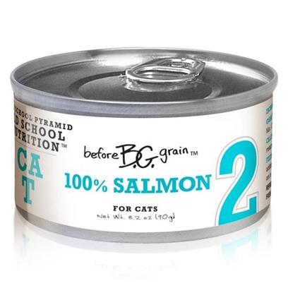 Merrick Pet Care Presents Before Grain Salmon Canned Cat Food 3.2oz Cans-24 Pack. Before Grain Cat Food from Merrick is a Superb Way to Ensure your Cat Gets only the Best Healthy Food. Made from the Finest all-Natural Ingredients, the Rich Mixture of Healthy Oils, Fresh Vegetables and Fine Quality Meats is Sure to Boost her Vitality. Known also to be a Delicious Meal, Before Grain Features Different Meaty Flavors Such as Salmon, Chicken, Turkey, Tuna, Quail and Buffalo. Another Certified Complete and Balanced Meal, Before Grain will Definitely Become a Fast Favorite in any Household. Primary Protein Source Salmon Primary Carb Source Salmon Analysis Crude Protein (Min.) 10.0%, Crude Fat (Min.) 4.5%, Crude Fiber (Max.) 1.4%, Moisture (Max.) 78.0%. Calorie Content 890 Kcal/Kg - a 3.2 Oz. Can Provides 80 Kcal of Metabolizable Energy, Calculated Value. [35650]