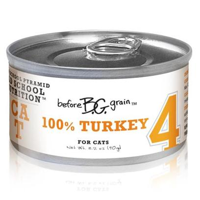 Merrick Pet Care Presents Before Grain Turkey Canned Cat Food 5.5oz Cans/Case of 24. Before Grain Cat Food from Merrick is a Superb Way to Ensure your Cat Gets only the Best Healthy Food. Made from the Finest all-Natural Ingredients, the Rich Mixture of Healthy Oils, Fresh Vegetables and Fine Quality Meats is Sure to Boost her Vitality. Known also to be a Delicious Meal, Before Grain Features Different Meaty Flavors Such as Salmon, Chicken, Turkey, Tuna, Quail and Buffalo. Another Certified Complete and Balanced Meal, Before Grain will Definitely Become a Fast Favorite in any Household. Primary Protein Source Turkey Primary Carb Source Turkey Analysis Crude Protein (Min.) 10.%, Crude Fat (Min.) 6.0%, Crude Fiber (Max.) 1.4%, Moisture (Max.) 78.0%. Calorie Content 945 Kcal/Kg - a 3.2 Oz. Can Provides 85 Kcal of Metabolizable Energy, Calculated Value. [35655]