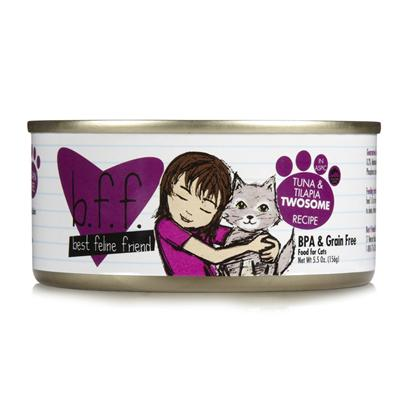 Best Feline Friend Tuna and Tilapia Twosome Canned Cat Food