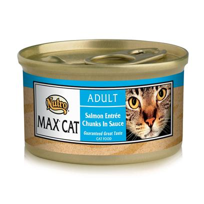 Nutro Presents Nutro Max Cat Salmon/Whitefish Food 3oz Cans/Case of 24. Nutro Mcgc is a Fantastic Meal thatS Sure to Delight your PetS Taste Buds. With its all-Natural Ingredients, youRe also Guaranteed that sheLl also Receive the Nutrients her Body Needs. Using only the Finest Ingredients, Each Flavorful Blend of Nutro Mcgc is Designed to Keep your Pet Happy and Healthy. Available in Multiple Flavors Like Beef and Egg, Chicken, Duck, Venison, Chicken and Fish, Lamb and Turkey, Seafood Bisque, Salmon and Whitefish, and Turkey, Chicken and Liver, there is Something here for Everyone! Nutro Mcgc is an Excellent Choice for the Discerning Pet Owner. Primary Protein Source Salmon Primary Carb Source Salmon Analysis Moisture (Maximum)78.00% Crude Protein (Minimum)10.00% Crude Fat (Minimum)5.50% Crude Fiber (Maximum)1.00% [35686]