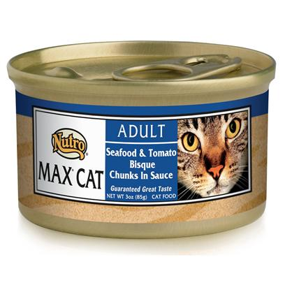 Nutro Presents Nutro Max Cat Seafood/Tomato Bisque Food 3oz Cans/Case of 24. Nutro Mcgc is a Fantastic Meal thatS Sure to Delight your PetS Taste Buds. With its all-Natural Ingredients, youRe also Guaranteed that sheLl also Receive the Nutrients her Body Needs. Using only the Finest Ingredients, Each Flavorful Blend of Nutro Mcgc is Designed to Keep your Pet Happy and Healthy. Available in Multiple Flavors Like Beef and Egg, Chicken, Duck, Venison, Chicken and Fish, Lamb and Turkey, Seafood Bisque, Salmon and Whitefish, and Turkey, Chicken and Liver, there is Something here for Everyone! Nutro Mcgc is an Excellent Choice for the Discerning Pet Owner. [35689]