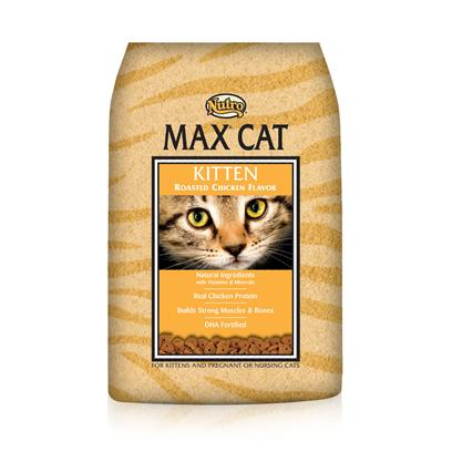Nutro Presents Nutro Max Kitten Dry Food 16lb Bag. Providing only the Best Food for your Pet in all Stages of her Life,Nutro Max has been Formulated to Meet Nutrition Needs. Using only the Finest all-Natural Ingredients, Nutro Max Supports your Pet Throughout her Life. Your Cat'S Dietary Needs are Essential to her Health and Happiness and the Great Tasting Blend of Meats and Vegetables in Nutro Max is Designed to Meet Those Needs. Available with Great Flavors Like Chicken and Fish, Chicken and Liver, and Turkey and Giblets, your Pet is Sure to Find a New Favorite. Nutro Max Cat Food is a Perfect Way to Delight your Cat'S Taste Buds and Help her Maintain her Vitality. Primary Protein Source Chicken Primary Carb Source Chicken Analysis Crude Protein (Minimum)34.00% Crude Fat (Minimum)20.00% Crude Fiber (Maximum)3.00% Moisture (Maximum)10.00% Ash (Maximum)7.00% Linoleic Acid (Minimum)3.50% Taurine (Minimum)0.16% [35855]