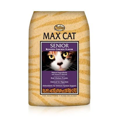 Nutro Presents Nutro Max Cat Senior Roasted Chicken Dry Food 16lb Bag. Providing only the Best Food for your Pet in all Stages of her Life,Nutro Max has been Formulated to Meet Nutrition Needs. Using only the Finest all-Natural Ingredients, Nutro Max Supports your Pet Throughout her Life. Your CatS Dietary Needs are Essential to her Health and Happiness and the Great Tasting Blend of Meats and Vegetables in Nutro Max is Designed to Meet Those Needs. Available with Great Flavors Like Chicken and Fish, Chicken and Liver, and Turkey and Giblets, your Pet is Sure to Find a New Favorite. Nutro Max Cat Food is a Perfect Way to Delight your CatS Taste Buds and Help her Maintain her Vitality. Primary Protein Source Chicken Primary Carb Source Chicken Analysis Crude Protein (Minimum)28.00% Crude Fat (Minimum)12.00% Crude Fiber (Maximum)14.00% Moisture (Maximum)3.00% [35857]