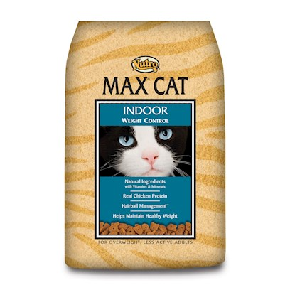 Nutro Presents Nutro Max Cat Indoor Weight Control 16lb Dry Food. A Great Way to Help Control your CatS Weight Now Comes in a Delicious Meal Fromnutro Max Indoor Weight Control. Made from the Finest Ingredients, this all-Natural Meal is Packed with the Necessary Vitamins and Nutrients to Help Boost her Vitality and Keep her from Gaining Weight. Perfect for Non-Active and Adult Cats, this Meal is Even Designed to Help your Pet with Hairballs! A Fantastic Meal that Shows your Pet how Much you Care, Nutro Max Weight Control is a Perfect Choice for the Discerning Pet Owner. Primary Protein Source Chicken Primary Carb Source Chicken Analysis Crude Fat (Min)10.00% Crude Fiber (Max)4.00% Ash (Max)6.75% Taurine (Min)0.16% Crude Protein (Min)30.00% Crude Fat (Max)13.00% Moisture (Max)10.00% Linoleic Acid (Min)2.50% Dha (Min)0.05% [35861]