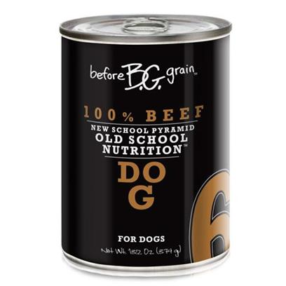 Before Grain Beef Lb6 Dog Canned Dog Food