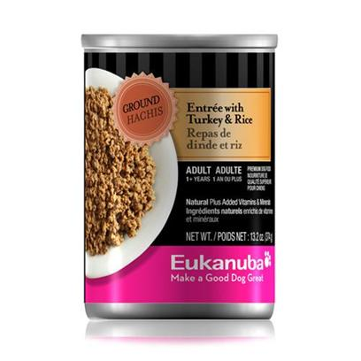 Eukanuba Dog Ground Entrée Turkey/Rice Canned Dog Food