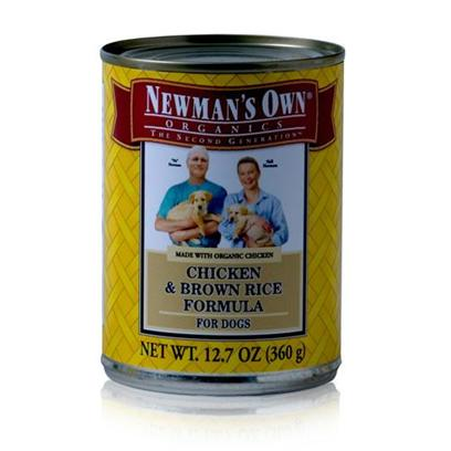 Newman's Own Presents Newman's Own Chicken/Brown Rice Canned Dog Food 5.5oz Cans/Case of 24. Newman's Own Chicken/Brown Rice Canned Dog Food , is a Great Way to Keep your Dog Active and Happy. [35923]