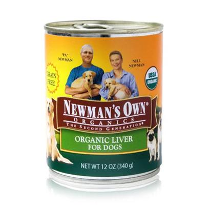 Newman's Own Presents Newman's Own Organics Liver Canned Dog Food 12oz Cans/Case of 12. Newman's Own Organics Liver Canned Dog Food. A Perfect Organic Meal that your Pet will Surely Love is NewmanS Own Organics. Made from the Finest Choice of Meats, Vegetables and Healthy Oils, the Perfect Blend of Flavors in this Meal is Sure to Please your PetS Taste Buds. With no Chemical Treatments this Meal is Certified Safe for Consumption and is Available in Great Flavors Like Beef and Liver. To Make Sure your Pet Gets only the Best for her Health, NewmanS Own Organics is the Best Choice for a Discerning Pet Owner. [35929]