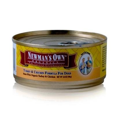 Newman's Own Presents Newman's Own Puppy/Dog Turkey/Chicken Canned Food 5.5oz Cans/Case of 24. A Great Meal to Help your Puppy Grow Healthy and Strong, Newman's Own Puppy Food is Designed to Meet a Puppy's Dietary Needs. Using Quality Organic Ingredients, this Meal is Safer for Consumption Compared to Other Foods for Puppies. It also has the Right Amount of Protein to Help your Develop Stronger Muscles, and Nutrients to Encourage Both Mental and Physical Development. Prepared with only your Puppy's Health in Mind, Newman's Own Puppy Food is a Great Way to Get your Puppy Started on the Road to a Healthy Lifestyle. Primary Protein Source Turkey/Chicken Analysis Crude Protein 8.0% (Min)Crude Fat 6.0% (Min)Crude Fiber 1.0% (Max)Moisture 78.0% (Max) [35930]