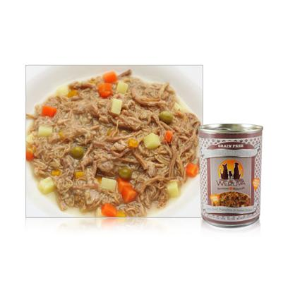 Weruva Presents Weruva Steak Frites Canned Dog Food 12/14oz. Available in 5.5oz and 14ozfor all you French Lovers out There... Even the Finickiest of Dogs don't Turn their Nose Up at this all Beef Treat... Mixed with Hearty Sweet Potatoes, Carrot and Pumpkin... Chez Magnifique! [35972]