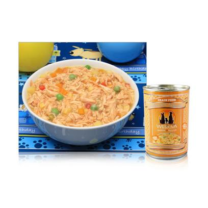 Weruva Presents Weruva Jammin Salmon Dog 12/14oz Canned Food. Introduce your Dog to the Flavors of the World with WeruvaS Top-of-the-Line Meals.Designed to Meet the Aafco Nutrition Profile, Weruva Meals are Certified Healthy to Keep your Dog Happy and Active. Using only the Finest Choice Meats and Vegetables, Weruva is Available in a Myriad of Great Flavors Like Kobe Beef, Chicken, Chicken Soup, Steak Frites, Wok, Amazon Liver, Salmon and Paella. With Weruva Dog Food, your Pet will Love Eating and youLl Love Feeding Him, because you Know itS Healthy. Primary Protein Source Chicken Primary Carb Source Chicken Analysis Moisture (Max)85.00% Crude Protein (Min)10.00% Crude Fat (Min)1.40% Ash (Max)1.20% Crude Fiber (Max)0.50% [36002]