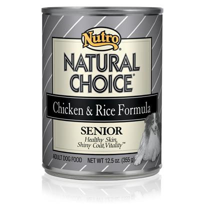 Nutro Presents Nutro Natural Choice Senior Dog Food 12.5oz Cans/Case of 12. Considering your Senior DogS Needs, Nutro Natural Choice Senior Dog Food has been Prepared in a Holistic Manner which Guarantees he Gets the Nutrient he Needs in his Golden Years. Packed with all the Vitamins and Minerals Needed to Maintain Quality of Life, this Meal is Rich in Protein and Contains Vitamin E to Encourage Stronger Muscles and Maintain Vitality. As Dogs Age their Nutrient Needs Change and Finding a Food to Meet New Needs can be Difficult. This is where Nutro Natural Choice Senior Comes In. With its Different Formulas for Large to Small Breeds, and Featuring Different Flavors Like Chicken and Turkey and Rice, Nutro Natural Choice Dog Food is Simply a Delicious and Nutritious Way to Care for your Dog in Old Age. [36014]