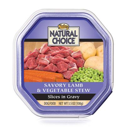 Nutro Presents Nutro Natural Choice Lamb/Vegetable Stew 3.5oz Cans/Case of 24. Providing only the Most Nutritious and Delicious Dog Food, Nutro Natural Choice Dog Food is a Great Way to Keep your Dog Healthy and Happy. Keeping your Pet Healthy Starts with the Food you Feed her and Nutro Natural Uses only the Finest Ingredients to Help Meet Nutrient Needs. Nutro Natural has been Prepared Holistically in a Myriad of Great Flavors Like Venison and Brown Rice, Lamb and Vegetable Stew, Chicken and Brown Rice, Beef and Potato Stew, Herring and Sweet Potato, Turkey and Vegetable, Turkey, Lamb and Pasta, Lamb and Rice, Chicken, Rice and Oatmeal, Lamb and Duck, and Lamb and Pasta to Tempt your Pet'S Taste Buds. Nutro Natural Choice is a Fantastic Meal Selection for the Discerning Pet Owner. [36017]