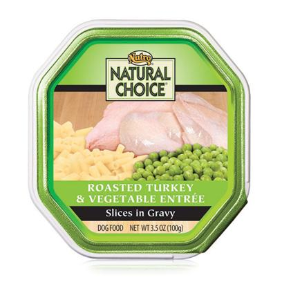Nutro Presents Nutro Natural Choice Roasted Turkey and Vegetable Recipe Small Breed Dog Food 3.5oz Case of 24. Providing only the Most Nutritious and Delicious Dog Food, Nutro Natural Choice Dog Food is a Great Way to Keep your Dog Healthy and Happy. Keeping your Pet Healthy Starts with the Food you Feed her and Nutro Natural Uses only the Finest Ingredients to Help Meet Nutrient Needs. Nutro Natural has been Prepared Holistically in a Myriad of Great Flavors Like Venison and Brown Rice, Lamb and Vegetable Stew, Chicken and Brown Rice, Beef and Potato Stew, Herring and Sweet Potato, Turkey and Vegetable, Turkey, Lamb and Pasta, Lamb and Rice, Chicken, Rice and Oatmeal, Lamb and Duck, and Lamb and Pasta to Tempt your PetS Taste Buds. Nutro Natural Choice is a Fantastic Meal Selection for the Discerning Pet Owner. [36030]