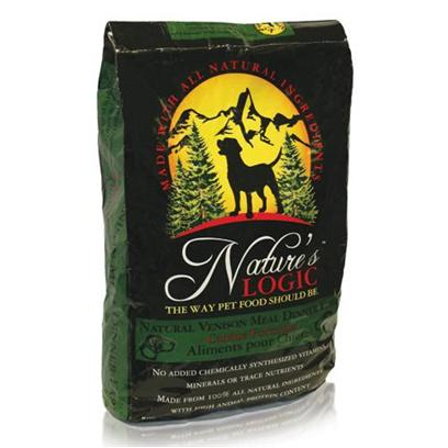 Nature's Logic Presents Nature's Logic Venison Meal Dinner Fare Canine Dry Formula 26.4lb Bag. Even if your Dog is Sensitive to some Foods, that DoesnT Mean he/she or you, the Owner, has to Suffer! You can Feed Him or her a Gluten-Free Dinner any Pet will Love with Nature's Logic Venison Meal Dinner Fare Canine Dry Formula! This Crunchy Kibble is Coated with Digestive Enzymes and Plasma Proteins that Contain High Levels of Natural Vitamins, Minerals, and Albumin and Globulin Proteins. Natural Antioxidants from Selected Fruits and Vegetables Grown in the Usa Promote a Healthy Immune System, Too! Because all of the Ingredients are Whole Foods, your Pet will Use More Nutrients and Produce Less Waste. Nature's Logic Venison Meal Dinner Fare Canine Dry Formula is Safe and Perfect for your Sensitive Pet! [36085]