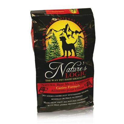 Nature's Logic Presents Nature's Logic Beef Meal Dinner Fare Canine Dry Formula 26.4lb Bag. A Fantastic Health Boost for your Dog is Now Available with NatureS Logic Dry Dog Food. Highly Palatable and Nutrient Dense Meat Based Dry Foods with Concentrates of Select Fruits and Vegetables, Containing no Wheat, Corn, Rice, Soy, Potato or Chemically Synthesized Vitamins, Minerals, or Trace Nutrients. Each Dry Diet is Specially Coated with Digestive Enzymes and Plasma Protein Containing High Levels of Natural Vitamins, Minerals, and Albumin and Globulin Proteins. [36087]