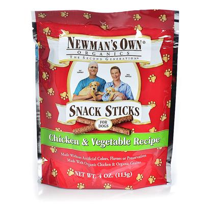 Newman's Own Presents Newman's Own Organics Training Dog Treats-4oz Chicken/Vegetables. You ShouldnT have to Guess what youRe Really Feeding your Dogs, Especially when youRe Rewarding them with a Treat. These Organic Training Dog Treats are Usda Certified Organic. no Less than 95% of the Ingredients in these Treats are Usda Verified Organic. These are Full of Nutrients that will Help Boost your PetS Immune System. Your Dogs Love Snacks Whether theyRe Healthy or Not. Positively Reinforcing Desired Behaviors in Dogs is Often Achieved by Providing Treats. Why not Train them with Rewards that you Know are Healthy? [36096]