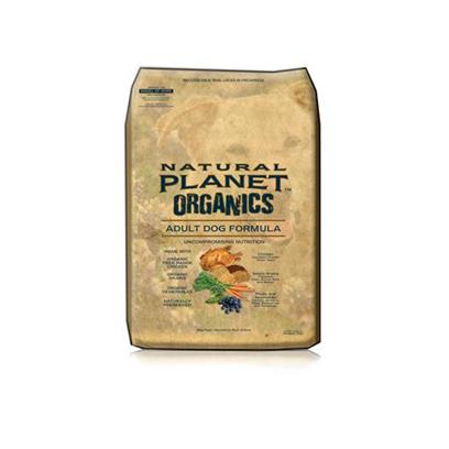 Tuffy's Presents Tuffies Pet Natural Planet Organics Dry Dog Food 25lb Bag. To Provide your Pet with a Healthy Meal, Tuffy Gives us their Natural Planet Organics. A Great Way to Keep your Pet Fit, Tuffy's Natural Planet Organics Uses only Organic Ingredients that are Packed with Nutrients and Vitamins Needed to Keep your Best Friend Healthy and Happy. Containing no Added Preservatives or Fillers, this Meal will Help Boost your Pet's Immune System. Available in Chicken and Turkey, your Pet will Love these Great Flavors. Organic Meals are Highly Recommended Since they Undergo no Chemical Treatments, and Tuffy's Natural Planet Organics Provide your Animal with only the Best. Primary Protein Source Chicken Primary Carb Source Chicken Analysis Crude Protein (Min.)23.00%Crude Fiber (Max.)4.00%*Omega - 6 Fatty Acids (Min.)2.00%Crude Fat (Min.)14.00%Moisture (Max.)10.00%*Omega - 3 Fatty Acids (Min.)0.40% [36147]