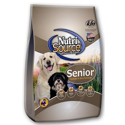 Tuffy's Presents Tuffies Pet Nutrisource Senior Dry Dog Food 30lb Bag. Helping your Senior Dog Maintain his Vitality is Made Easier than Ever with Tuffynutrisource Meal for Senior Dogs. Made from the Finest Ingredients, Tuffy Assures your Dog Gets the Right Nutrients Needed to Keep Him Energized and Strong. Also Ideal for Less Active Dogs, this Meal will Help Tone Muscles and Keep Bones Strong. A Great Way to Help Keep Him Happy and Live Longer, Tuffynutrisource for Senior Dogs is the Perfect Meal for your Beloved Pet. Primary Protein Source Chicken Primary Carb Source Chicken Analysis Crude Protein (Min.) 26.0% 260 G/Kgcrude Fat (Min.) 10.0% 100 G/Kgcrude Fiber (Max.) 4.0% 40 G/Kgmoisture (Max.) 10.0% 100 G/Kgash (Max.) 6.0% 60 G/Kgselenium (Min.) 0.5 Mg/Kg 0.5 Mg/Kgvitamin E (Min.) 175 Iu/Kg 175 Iu/Kg*Omega - 6 Fatty Acids (Min.) 2.0% 20 G/Kg*Omega - 3 Fatty Acids (Min.) 0.4% 4 G/Kg*Glucosamine (Min.) 550 Ppm 550 Mg/Kg*Chondroitin (Min.) 150 Ppm 150 Mg/Kg* Ascorbic Acid (Vitamin C) (Min.) 100 Mg/Kg 100 Mg/Kg*Lactobacillus Acidophilus (Min) 50 Million Cfu/Lb 50 Million Cfu/Lb*Enterococcus Faecium (Min) 35 Million Cfu/Lb 35 Million Cfu/Lb*Saccharomyces Cerevisiae (Min) 900 Million Cells/Lb 900 Million Cells/Lb [36160]